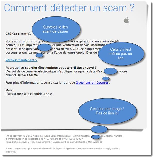 Comment détecter un scam