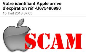 SCAM Apple