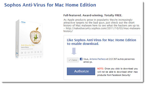 Sophos Anti Virus pour Mac