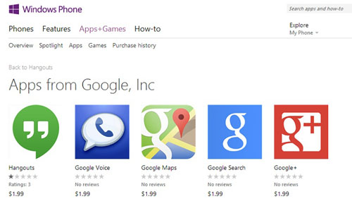 google-apps-fake