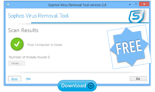 Sophos free download removal tool