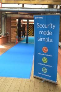 Blue carpet Sophos Day