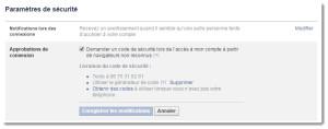 sécuriser facebook