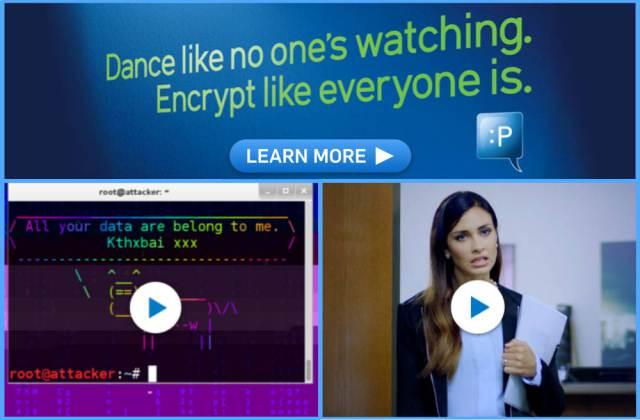 cryptage des données