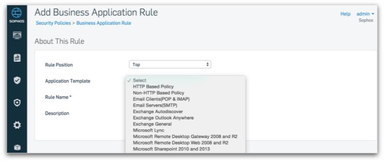 xg-firewall-business-app-rule