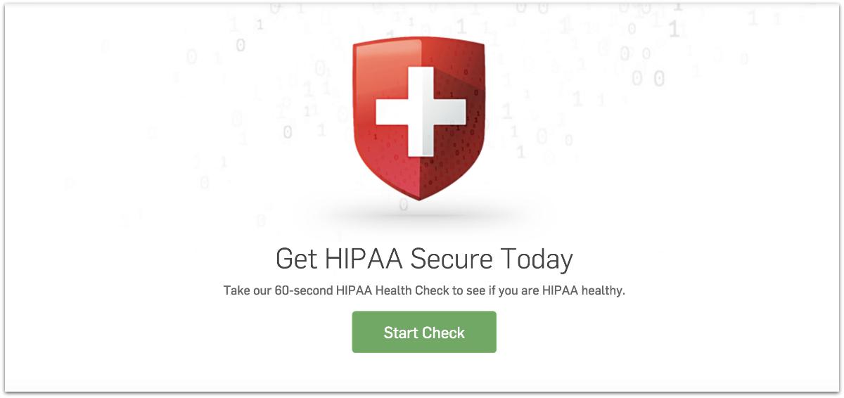 HIPAA compliance check