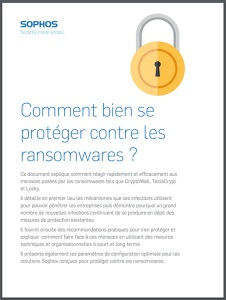 Livre Blanc Sophos Ransomware