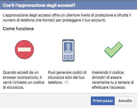 Approvazione accessi