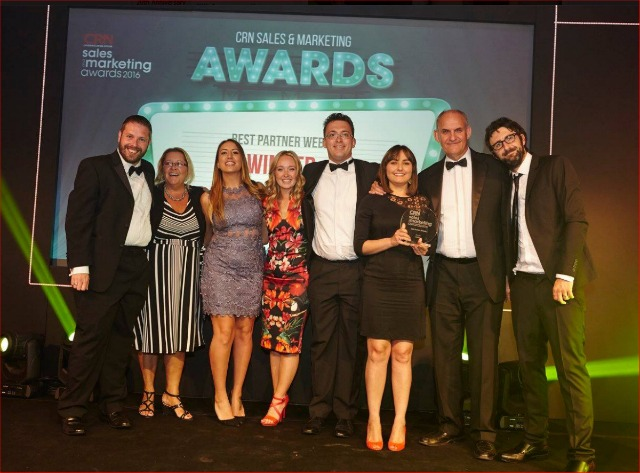 CRN awards best partner website