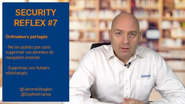 Ordinateur partagé - Security Reflex 7