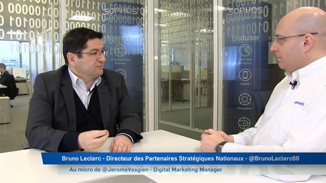 Bruno Leclerc interview de Jerome Vosgien pour Sophos France