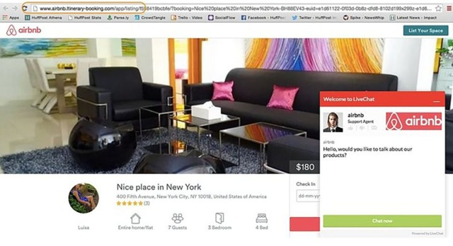 escroquerie airbnb
