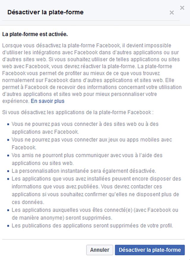 donnees facebook