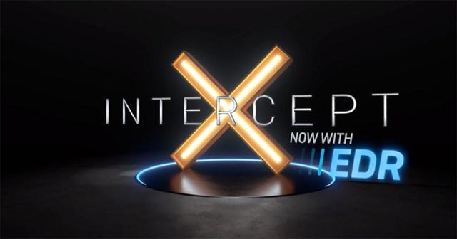 Sophos IntercerptX With EDR