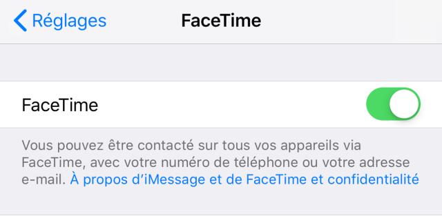 bug facetime