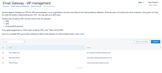 sophos email