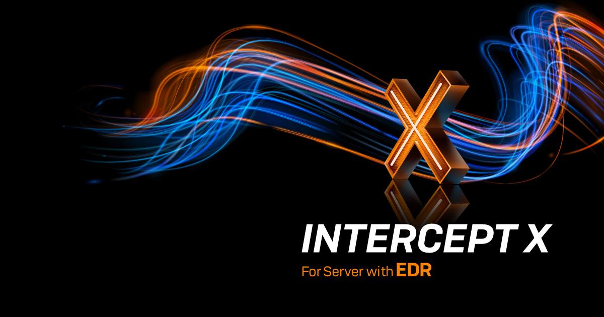Intercept X for Server Advanced with EDR