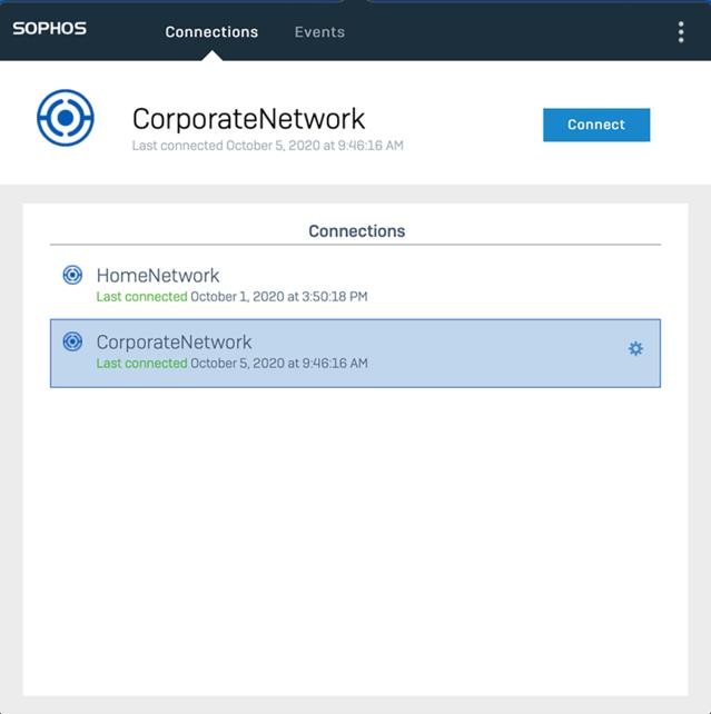Sophos Connect