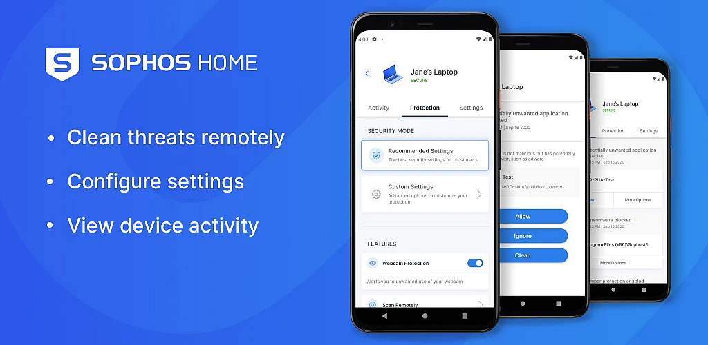 Introducing the new Sophos Home mobile management app