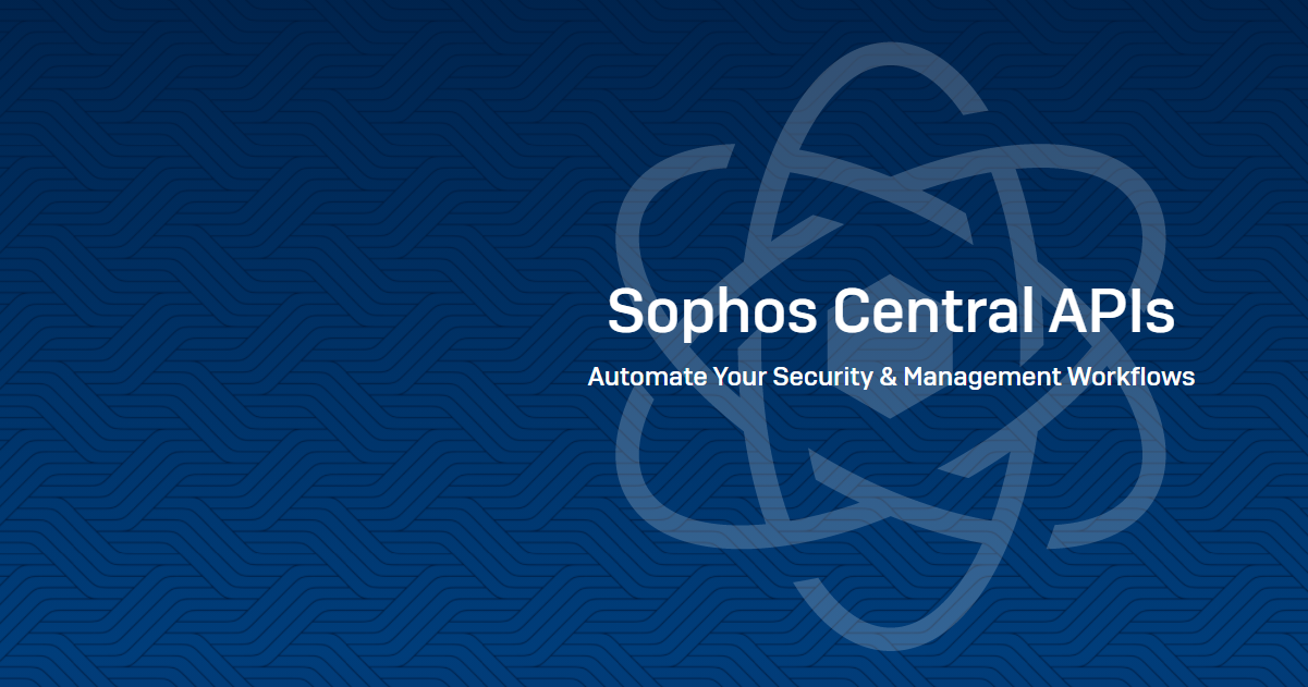 Sophos API improvements to endpoint isolation, exclusions, and querying