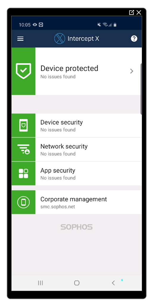 sophos for mobile