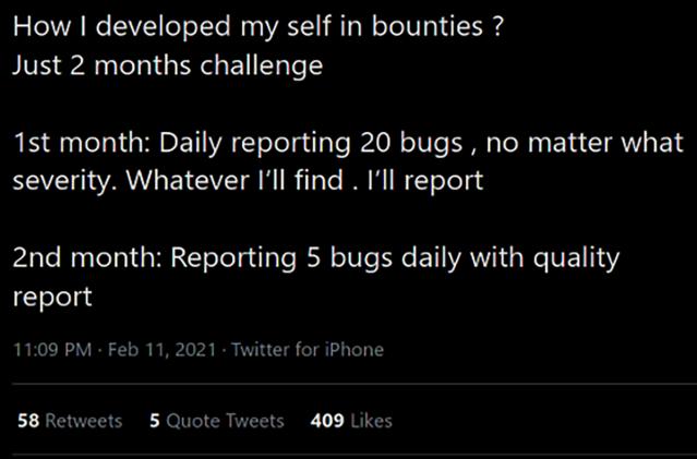 beg bounty