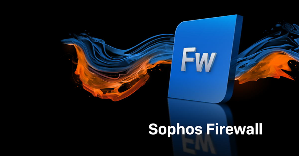 High availability Sophos Firewalls now on AWS Marketplace